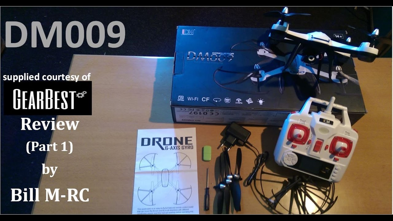 Dm009 Review Unboxing Setup Overview Part 1 Youtube Jjrc H26w Wifi Fpv With 720p Camera One Key Return Rtf 24ghz Rc Quadcopter Hijau