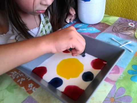 experimento para niños