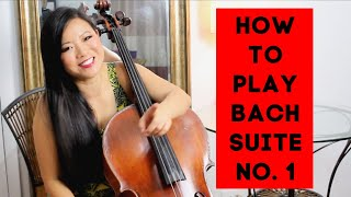 How to Play Bach Cello Suite No. 1 Prelude (Practice Tips: How To Do String Crossings)