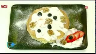 آموزش آشپزی آسان-  پنکیک با ماست میوه ای با حضور رشید- قدرت الله ایزدی