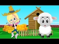 Mary Had A Little Lamb - Animal Families Song Animation Nursery Rhymes & Songs for Children