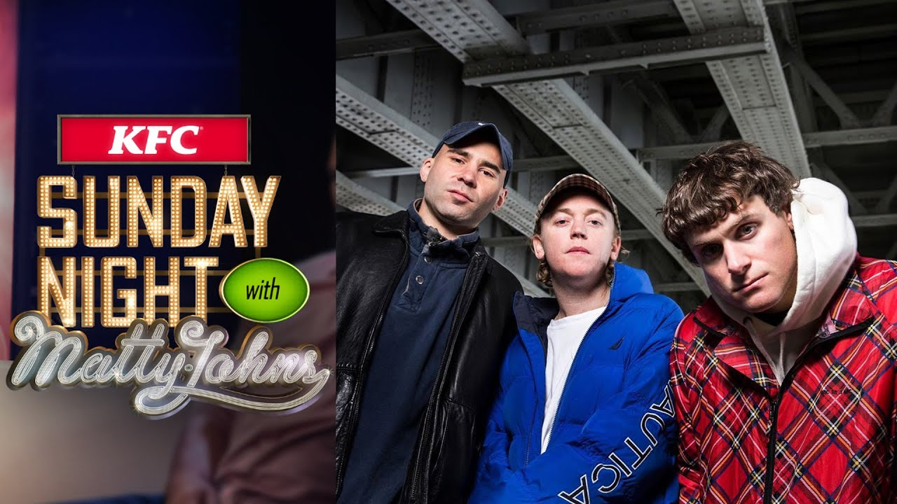 DMA'S perform the lead single from their new album, 'THE GLOW' | Sunday Night with Matty Johns