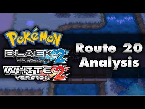 Pokemon Black 2 and White 2   Unova Route 20 Analysis