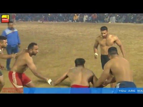 BIHLA (Barnala) KABADDI CUP - 2016 ! OPEN 1st SEMI FINAL ! BAGGA PIND v/s DHALIWAL BET ! Part 7th
