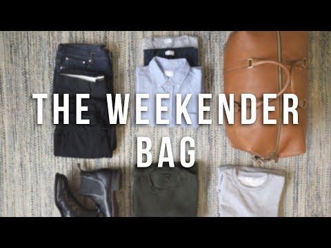 Weekender Bag | What's in My Bag