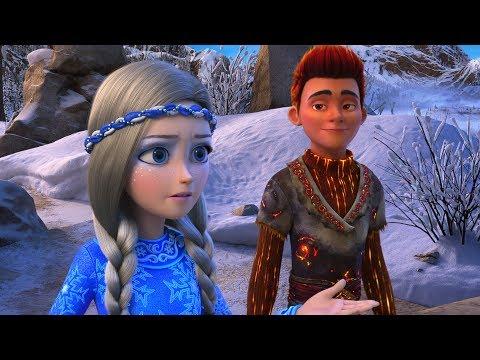 O Reino Gelado: Fogo e Gelo - Trailer dublado [HD]