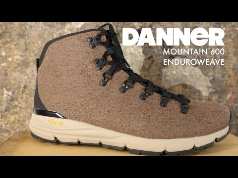 DANNER MOUNTAIN 600 | ENDUROWEAVE | The Boot Guy Reviews