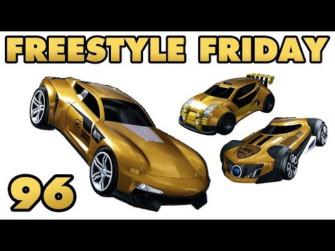 3 NEW HOTWHEELS CARS - Freestyle Friday 96 - Rocket League thumbnail