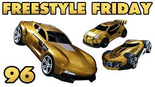 3 NEW HOTWHEELS CARS - Freestyle Friday 96 - Rocket League