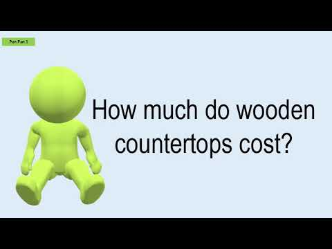 How Much Do Wooden Countertops Cost?