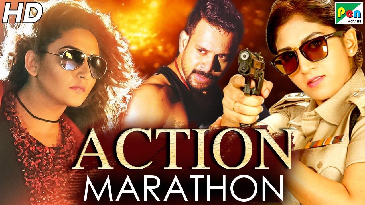 Back To Back Action Movies Marathon | Daava, Tez Talwaar, Majaal | Hindi Dubbed Movies