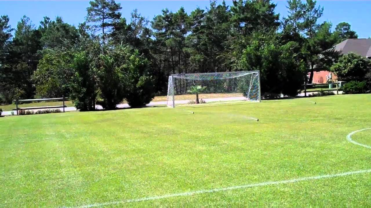Shost Homemade Soccer Field   YouTube
