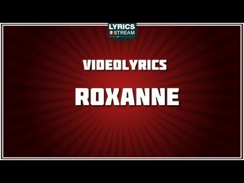 Descargar MP3: roxanne lyrics