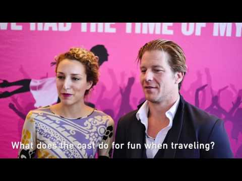 Dirty Dancing interview with Rachel Boone & Christopher Tierney