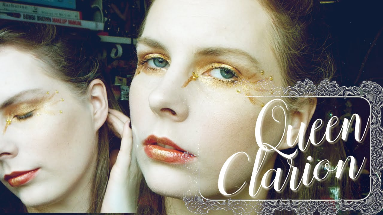 TUTORIAL || Queen Clarion [Pixie Hollow] Inspired Makeup Look