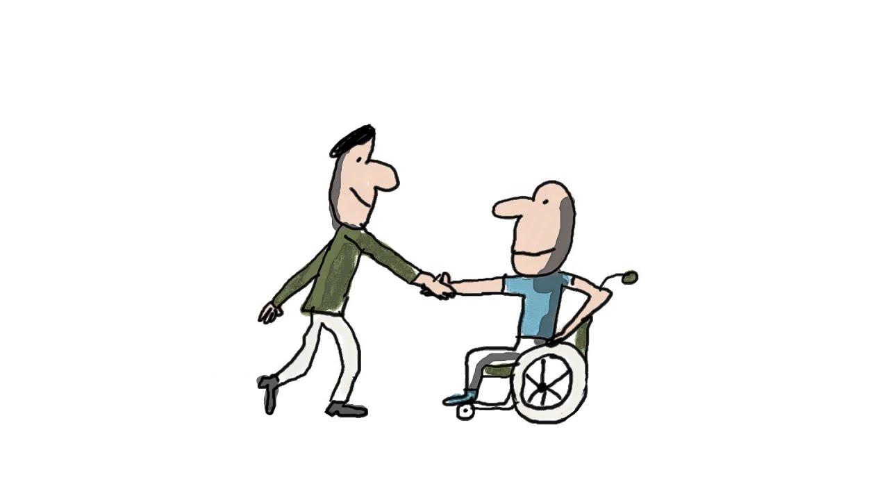 Comment les personnes handicap es sont elles accompagn es dans leur vie quotidienne youtube - Personne qui repare les cheminees ...