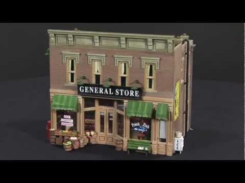 O Scale Building – Lubeners General Store – Model Building | Woodland Scenics