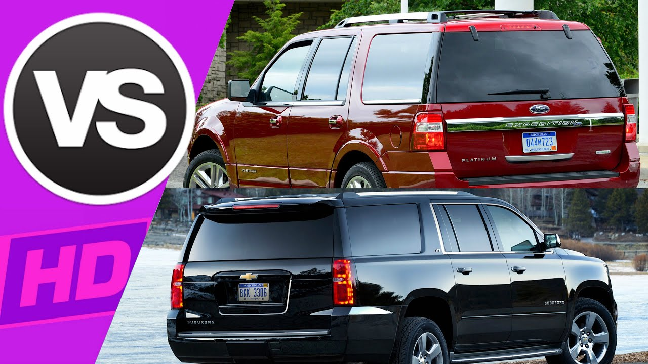 a comparison of ford expedition and chevy tahoe in the sports utility vehicles industry