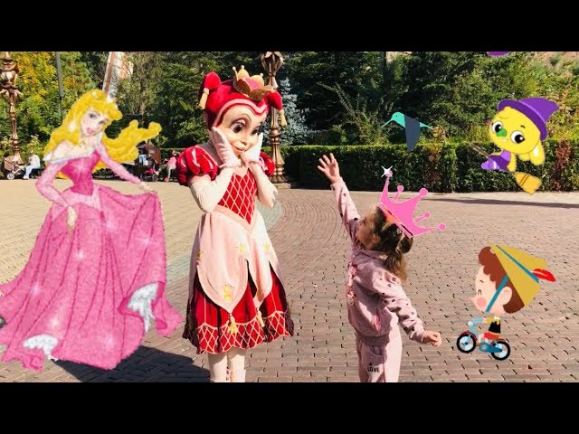 Pinocchio Red Hood Sleeping Beauty Princess Pardijn Efteling Diorama Pagoda HD