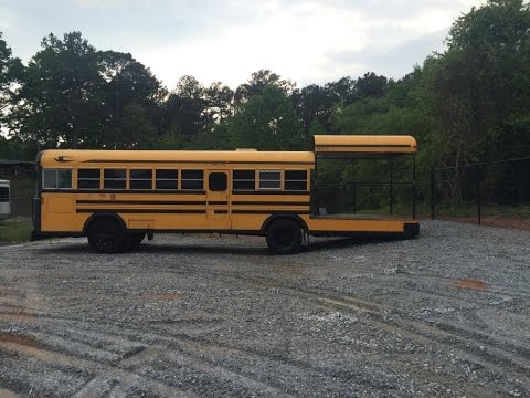 Barbecue Bus Conversion Project 6 Youtube