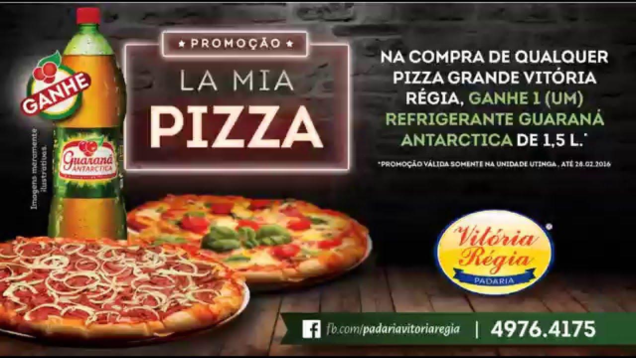 Promoo La Mia Pizza Padaria Vitria Rgia YouTube