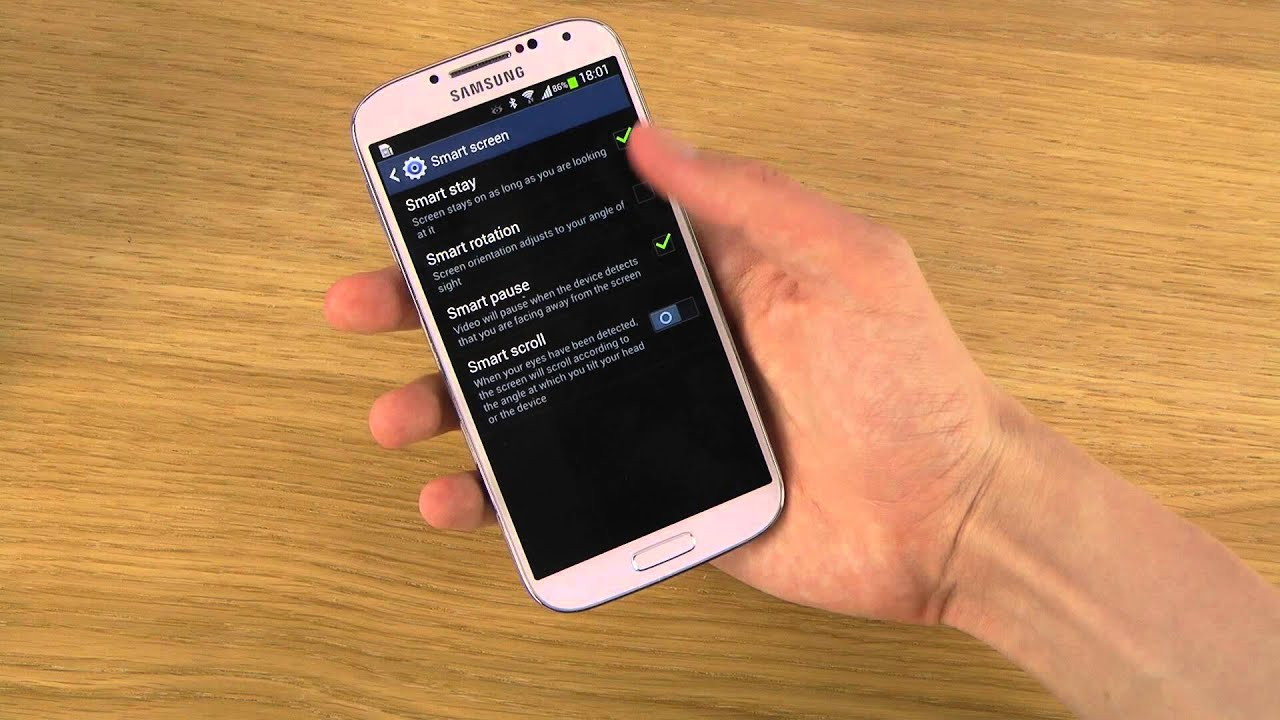 How to use smart stay samsung galaxy s4 youtube ccuart Image collections
