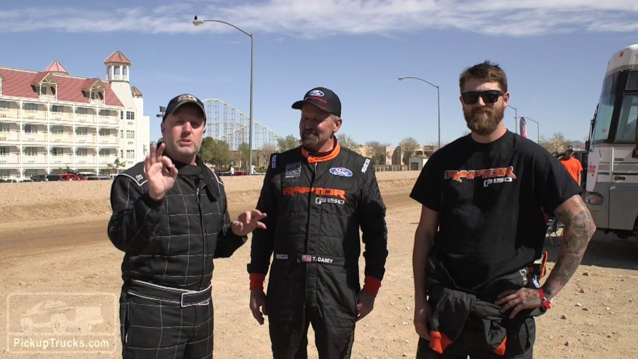 New 2017 Ford Raptor Race Team Interview At The Mint 400  YouTube