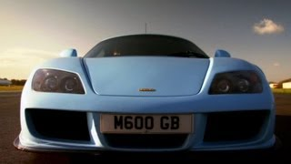 Noble M600 Track Test | Top Gear