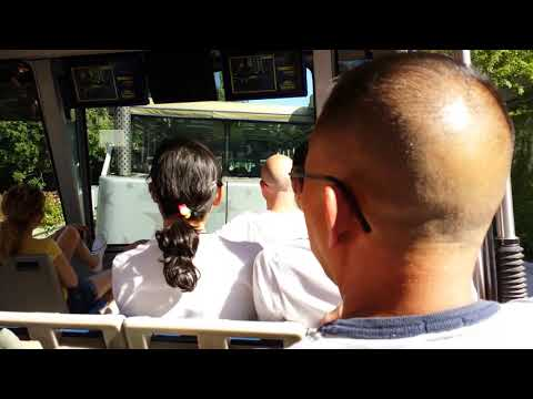 UNIVERSAL STUDIOS HOLLYWOOD STUDIO TRAM TOUR 1080p HD VIDEO