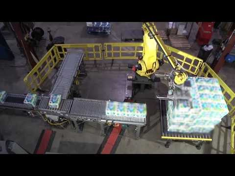 Soft Product Palletizing Robotic System