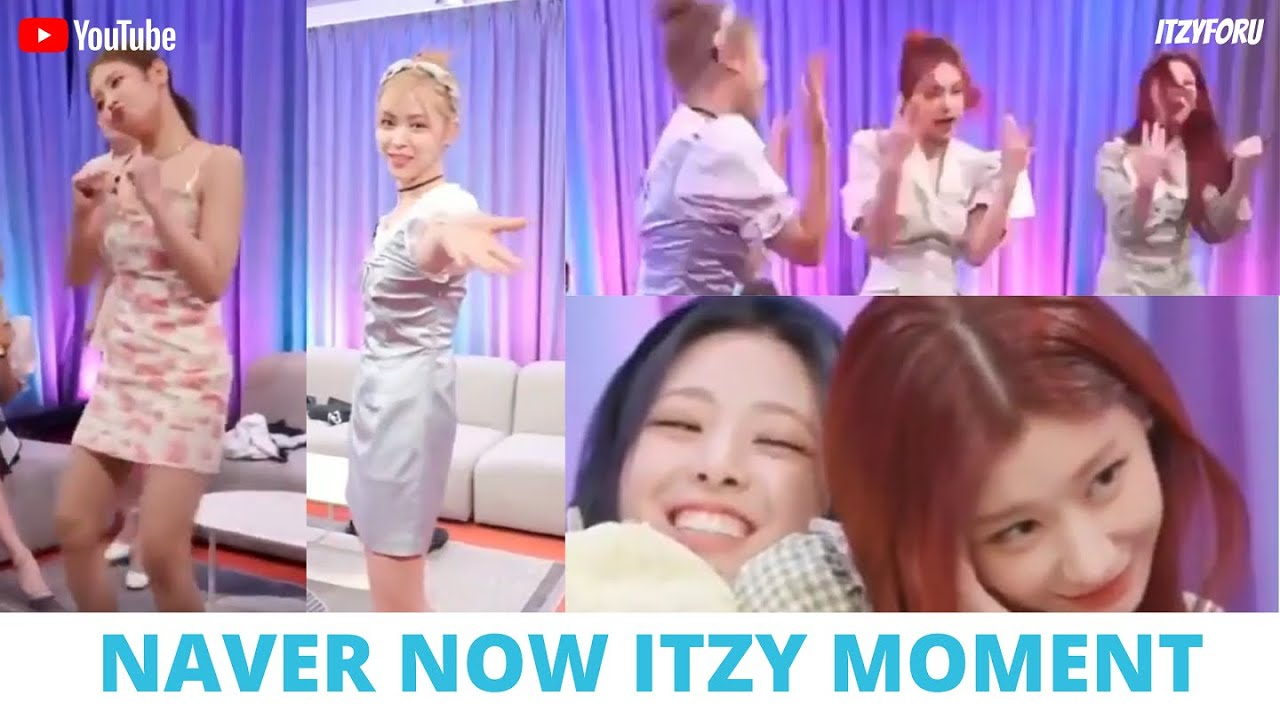 Shin Ryujin with Cinderella Costum and Lia Crab Dance on ITZY (있지) Naver Now Moment