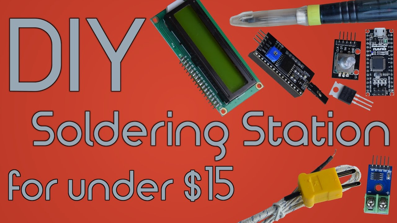 Diy soldering station for under 15 using arduino youtube diy soldering station for under 15 using arduino solutioingenieria Choice Image