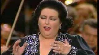 Montserrat Caballé in concert singing the famous aria from Puccini'...