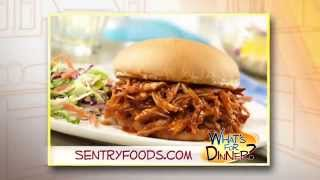What's For Dinner? - Tangy Pulled Pork Sandwiches
