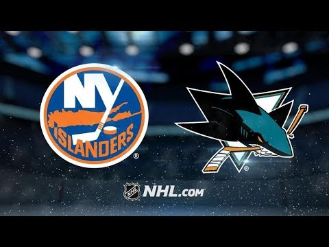 New York Islanders Vs. San Jose Sharks | NHL Game Recap | October 14, 2017 | HD