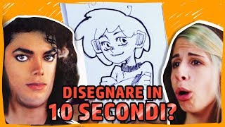 Disegnare in 10 SECONDI? - 10 minuti 1 minuto 10 secondi challenge - RichardHTT