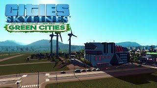 Прохождение Cities Skyline (Green Cities) #2 Высшая школа искусств