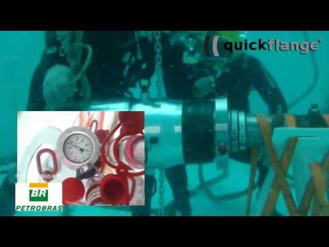 Quickflange Subsea installation.