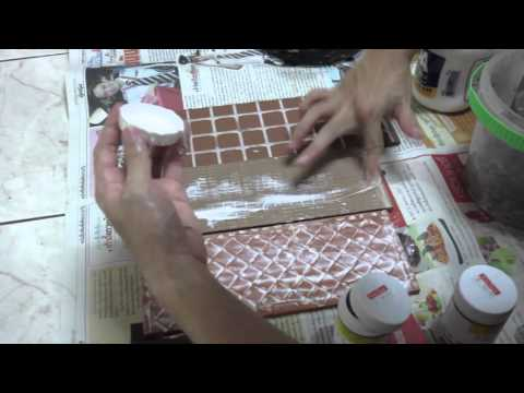 How to make paper pulp magnet