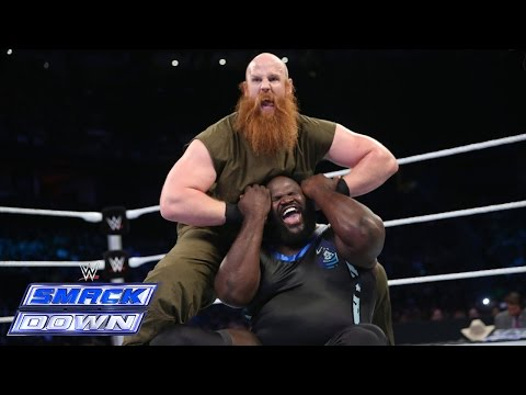 Roman Reigns, Big Show & Mark Henry vs. The Wyatt Family: SmackDown, August 29, 2014