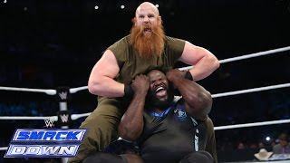 roman reigns big show mark henry vs the wyatt family smackdown august 29 2014
