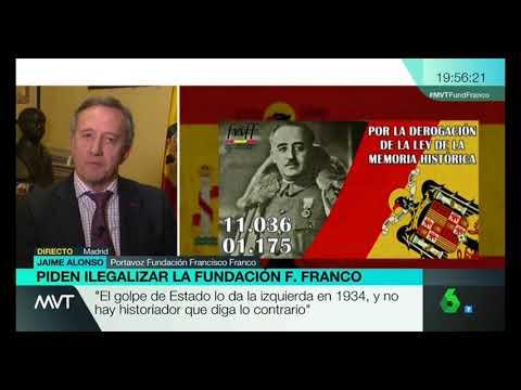 El zasca de Mamen Mendizábal al   presidente Fundación F. Franco