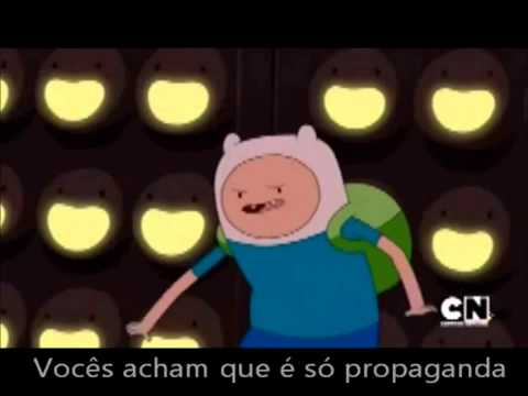 Adventure time my best friends in the world (portuguese)