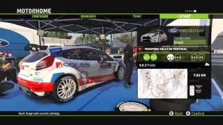 WRC 5: FIA World Rally Championship - WRC-2 Vodafone Rally de Portugal 60FPS PC HD Gameplay