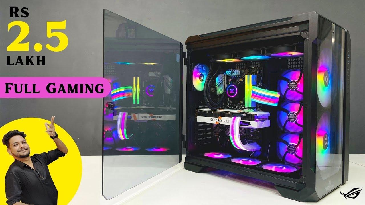 Rs 2.5 Lakh Gaming PC Build   RTX 3070   5800X   Krishna (Rajasthan)   9532777615   Mr Pc Wale