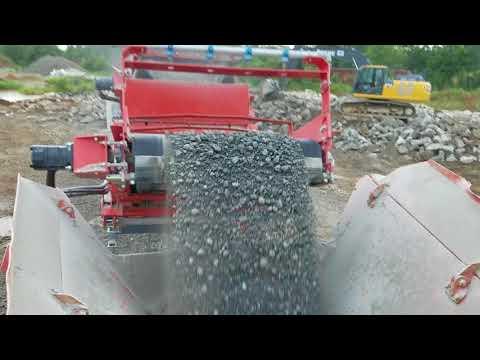 Sandvik Concrete Recycling Setup