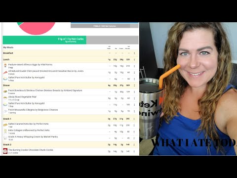 what-i-ate-today-//-easy-keto-menu-ideas-//-macros-//-what-i-eat-for-weight-loss