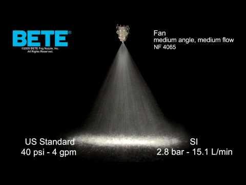 Fan Nozzle: BETE NF 4065