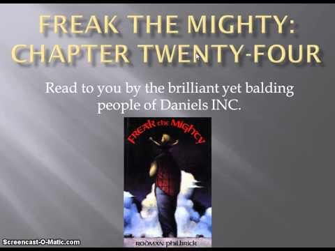 Freak the Mighty chapter 24