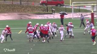 Matthias Goossen Sr. Highlights- 2014 CFL Draft prospect